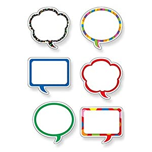 SPEECH BUBBLES DESIGNER CUT-OUTS