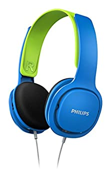 buy Philips Shk2000Bl/00 Childrens Lightweight Headphones With Volume Control, Blue