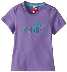 Puma (Kids) Girl's Dahlia Purple T-Shirt