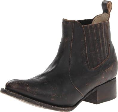Freebird Women's Lasso Western Boot,Black,6 M US