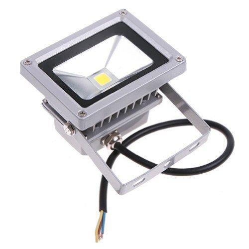 Secst Led Flood Light Bulb Lamp 6000K 120V Ip65 10W Garden Parking Use Color Warm White