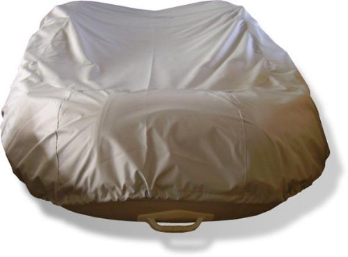 NEW BLUE 8 1/2' VORTEX INFLATABLE BOAT DINGY DINGHY COVER BEST AVAILABLE/600D, WITH DRAW STRING AND STRAPS, FITS UP TO 8 1/2' LONG, 5' WIDE, 16 1/2
