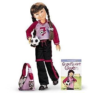 "American Girl Hopscotch Hill 16"" Gwen Doll & Book"