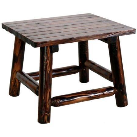 Leigh Country Char Log 24u2033 X 18u2033 High End Table