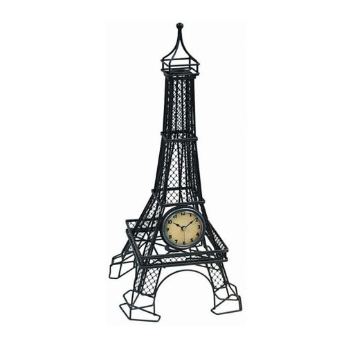 Infinity Instruments The Eiffel Tower Table Clock