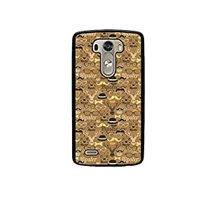 Vibhar printed case back cover for LG G3 hipsterseamless