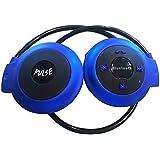 PULSE! Mini Portable Wireless Bluetooth Headset With Mic - Cordless Sports headphones - Lifetime Guarantee