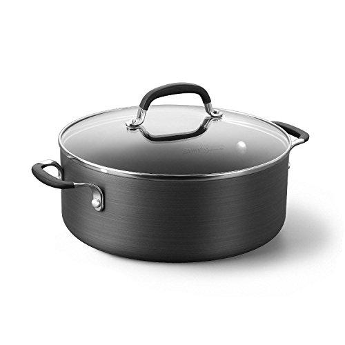 Calphalon Hard Anodized Aluminum Nonstick Cookware Chili Pot, 5 qt., Black (Calphalon Chili Pot compare prices)
