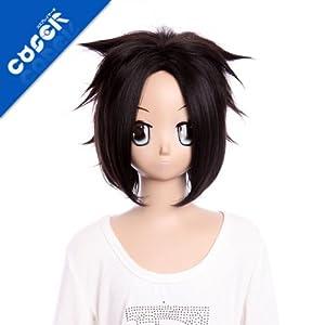 Final Fantasy VII Zack Fair GH269 35cm 13.8inch 125g Lolita Wig Fashion Wig Cosplaywig Coserwig Anime Party Wig Free Shipping