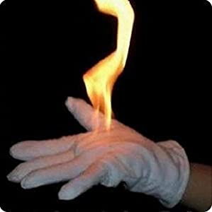 free shipping Magic gloves fire from gloves bring fire from glove palm magic props magic tricks