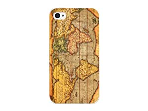 Cellet Vintage Map 01 Proguard Case for iPhone 4/4S - White