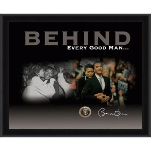 Behind Every Good Man (Barack Obama, Michelle Obama, Martin Luther