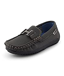 Kittens Boys Brown Synthetic Loafers (KTB149) - 12.5 UK
