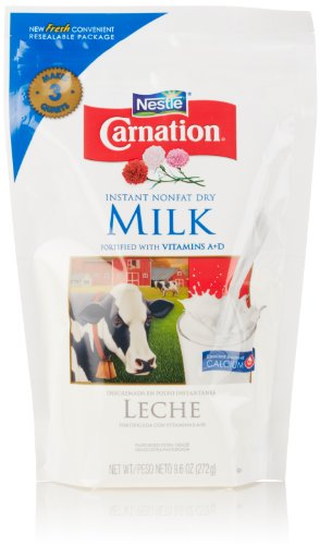 Nestle Carnation Instant Nonfat Dry Milk, 9.6 Oz