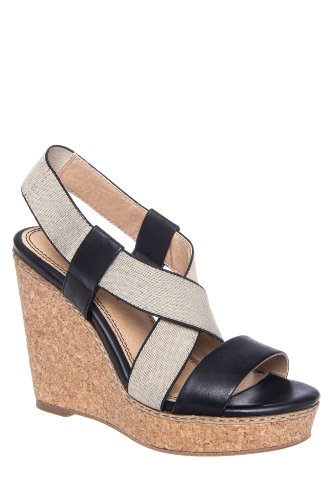 Splendid Kellen High Wedge Slingback Sandal