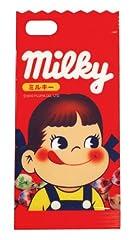 バンダイ iPhone 5 専用 ミルキー ダイカットキャラクタージャケット ペコちゃん MLK-08PK