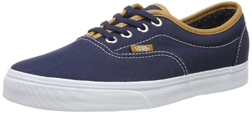 Vans Unisex-Adult LPE Low-Top Trainers VRRRAQX CL/Dress Blues/Polka 12 UK, 47 EU