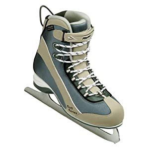 Riedell 725SS Tan Ladies Ice Skates - Adults Soft Boot Figure Skates by Riedell