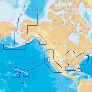 Navionics NAV-CF/1XG Gold All USA and Northern Bahamas on CF Card