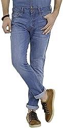 Highlander Men's Slim Fit Jeans (13140001455868_HLJN000491_36W x 33L_Indigo)