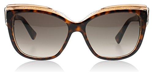 Dior E59 Havana Glitter Glisten 2 Cats Eyes Sunglasses Lens Category 3