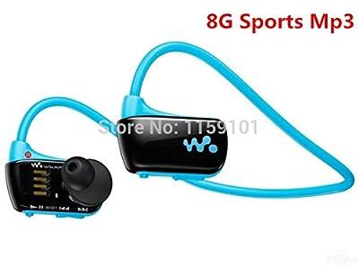 2014 New W273 Sports Mp3 player for sony headset 8GB NWZ-W273 Walkman Running earphone Mp3 player headphone Free shipping(White)