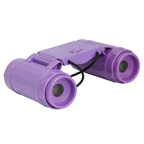 Mini Children Binoculars Telescopes Purple Compatible With Kids Purple