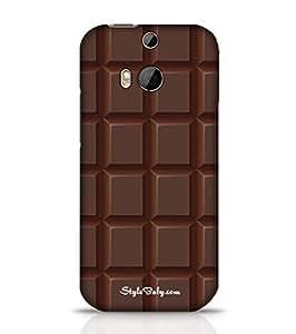 Style baby Dark Choco HTC M8 Phone Case