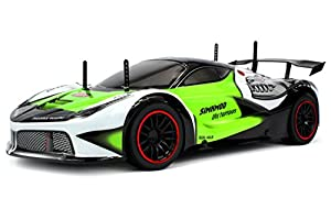 Velocity Toys Piranha Racer Exotic Supercar Remote Control RC Car 2.4 GHz Control System, High Speed 15+ MPH, High Performance Lithium Battery, Big Size 1:10 Scale RTR (Colors May Vary)