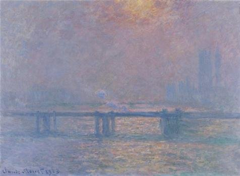 Oil Painting 'Charing Cross Bridge, The Thames, 1903 By Claude Monet' 18 x 25 inch / 46 x 63 cm , on High Definition HD canvas prints is for Gifts And Gym, Kids Room And Kitchen Decoration (Activ Energy Battery compare prices)