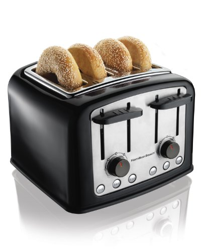 Hamilton Beach 24444 Smart Toast Extra-Wide Slot Toaster