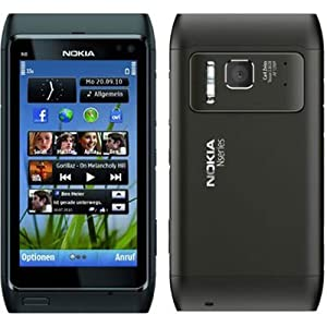 MonoKase Back Cover For Nokia N8 Nero 1 Black
