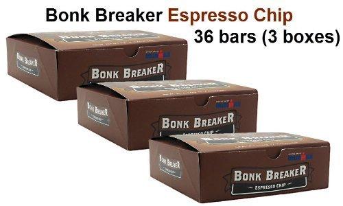 Bonk Breaker Espresso Chip 36-Pack (3 boxes (36 bars)) by Bonk Breaker (Bonk Breakers Espresso Chip compare prices)