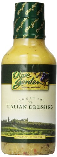 Olive Garden Signature Italian Salad Dressing – 20 ounce (pack of 2)