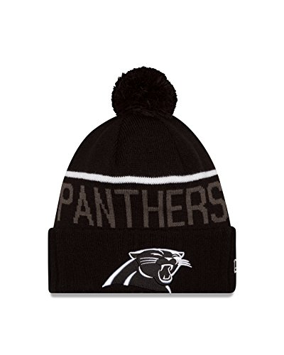 NFL Carolina Panthers 2015 Sport Knit, Black, One Size