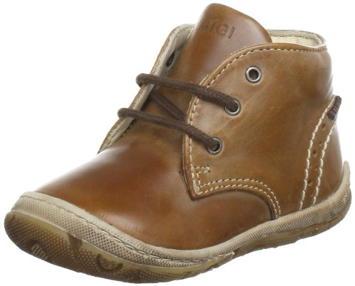 Primigi HAKEEM-E First Walking Shoes unisex-baby Brown Braun (MARRONE) Size: 18