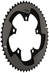 Sram Road Chain Ring 52T Red22 X-Glide R Yaw 11 Speed S3 Hidden Bolt/Non-Hidden Bolt 110 mm Aluminium 5 mm BB30 or GXP (52-36) - Falcon Grey from SRAM Road
