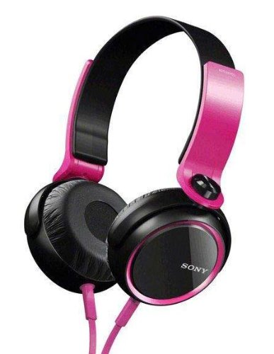 Sony Mdr-Xb400 Xb Series Extra Bass Headphones (Pink)