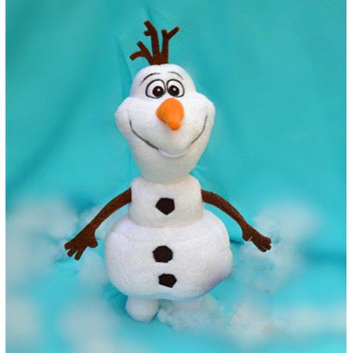 Queen Elsa Disney Princess action figure stuffed Olaf 22cm-56cm Ruleronline of snow and Ana (33CM)