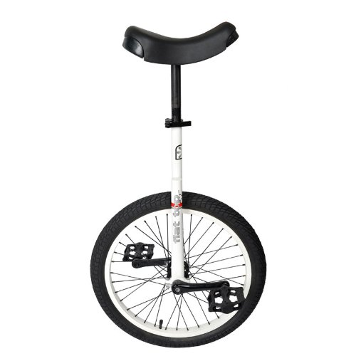 "Why Should You Buy Sun Flat Top Street Unicycle 24"" Gloss White"
