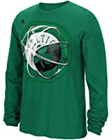 "Boston Celtics Adidas NBA ""Horizons"" Premium Print L/S Men's T-Shirt"