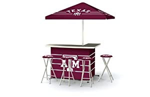 Best of Times Patio Bar and Tailgating Center Deluxe Package- Texas A & M by Best of Times, LLC