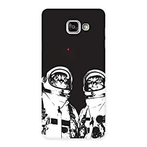 Delighted Cat Astro Back Case Cover for Galaxy A7 2016