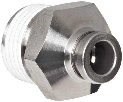 Smc kqb h stainless steel push to connect fitting with