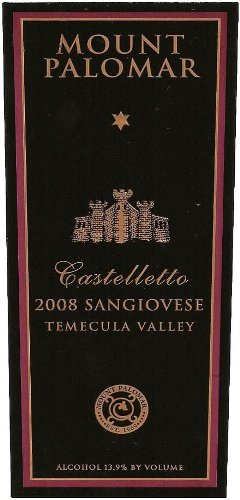 2008 Castelletto Sangiovese 750 Ml