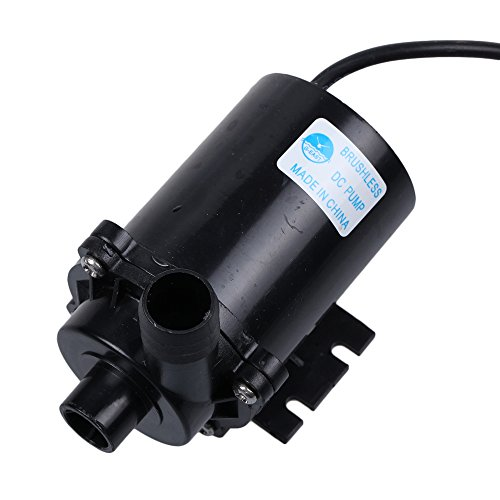 Tabstore Brushless Permanent Magnetic Rotor Centrifugal Submersible Water Pump Dc 12V 1050Ma 750L/H 4M For Fountain / Solar-Panel Circulate System