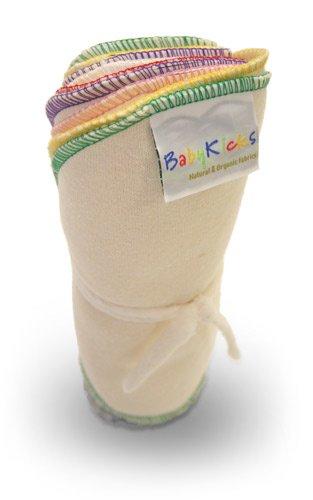 Baby kicks 10 Pack Baby Wipes, Colors May Vary