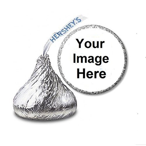 108 Custom Personalized Labels/Stickers for Hershey's Kisses Candies - Party Favors by JS&B Enterprises (Personalized Party Stickers compare prices)