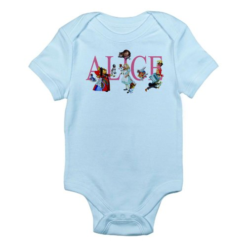 CafePress ALICE IN WONDERLAND FRIENDS Infant Bodysuit
