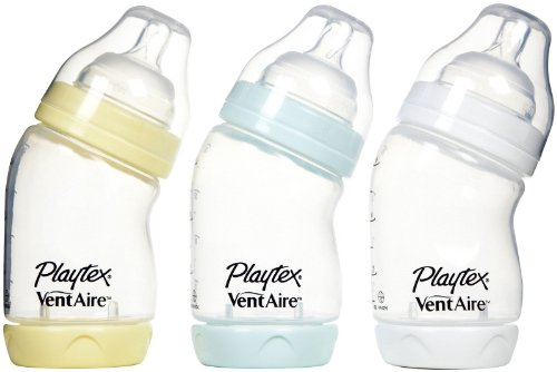 Playtex Ventaire Wide Bottle - 6 Oz - 3 Pk - Girl front-937238